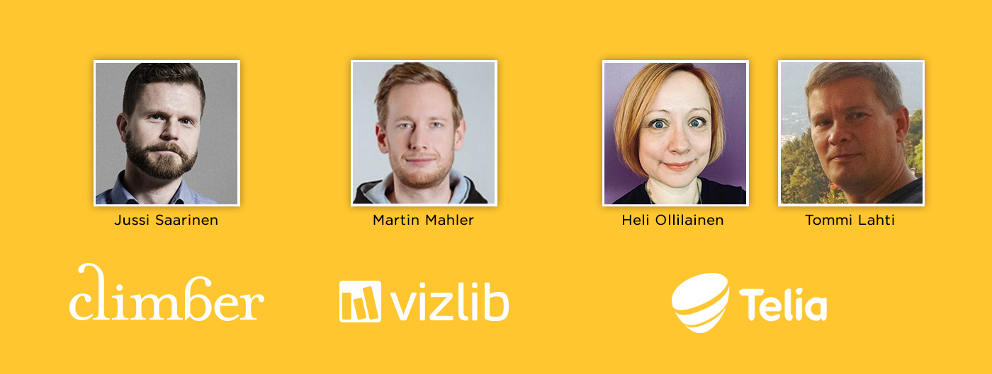 Qlik Analytics Tour with Climber & Vizlib - Speakers