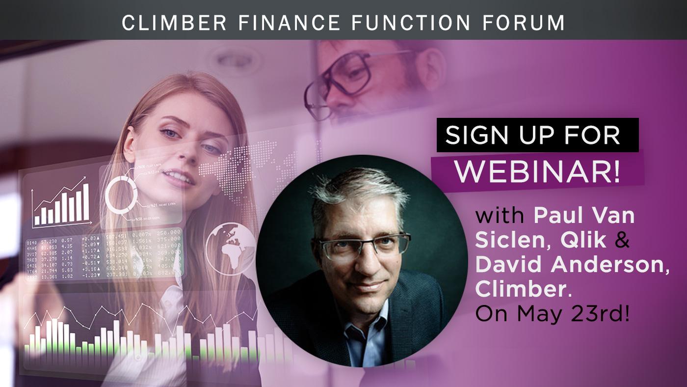 Climber Finance Function Forum Webinar Finance 360