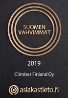 Climber Oy Suomen Vahvimmat 2019