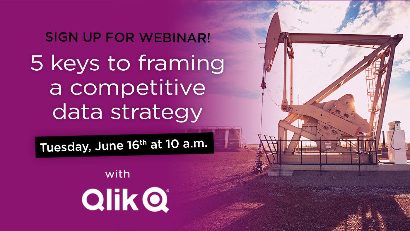 Webinar: 5 keys to framing a competitive data strategy