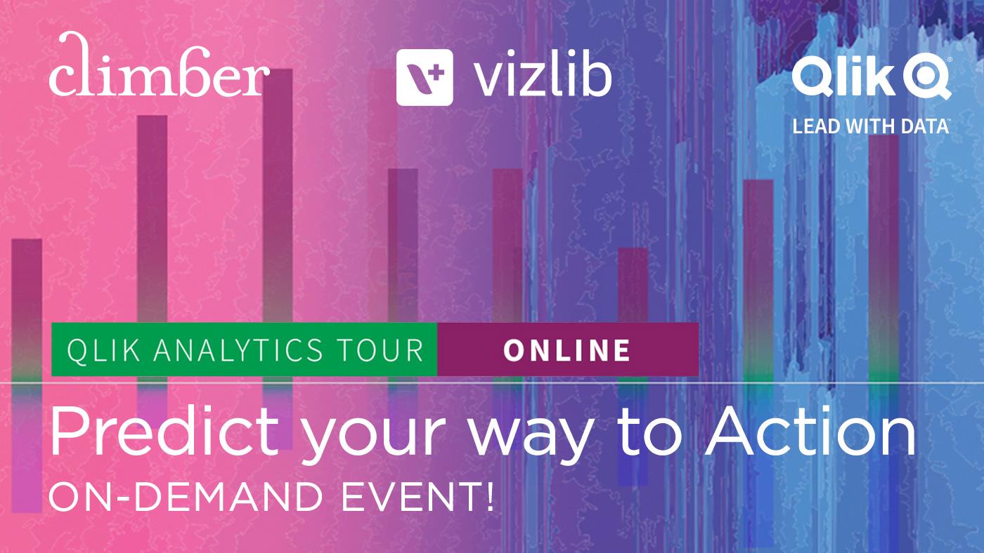 Qlik Analytics Tour On-demand with Climber